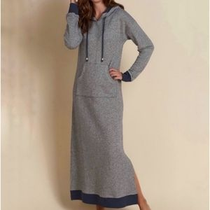 Soft Surroundings | Lazy Day Lounger Hooded Dress